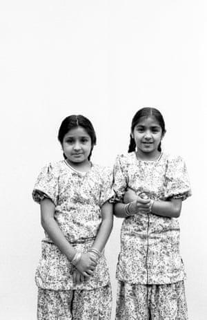 Kanta Korotania and her sister Amerjit, 18 August 1979