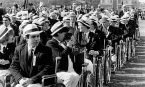 British athletes in Tokyo in 1964.