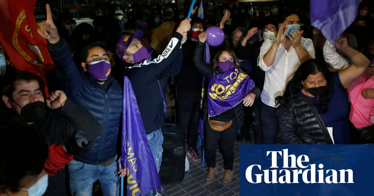 'A new Chile': political elite rejected in vote for constitutional assembly