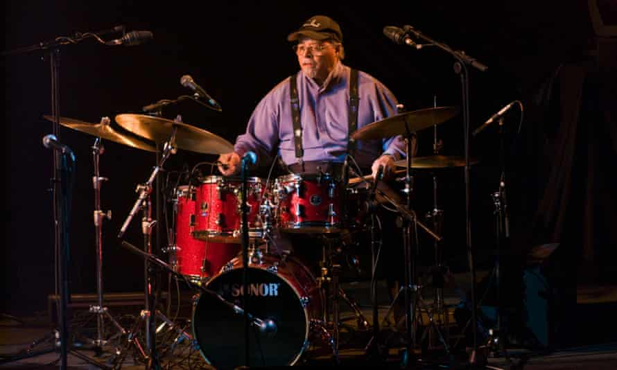 Jimmy Cobb playing Kind of Blue with his So What Band at the Hay festival, 2009.