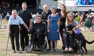 Left to right: Roger Preston, Philip Howells, James Rose, Matthew Scott, Kate Risdon, Siobhan Clough and Charlotte Bott.