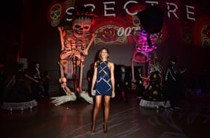 Naomie Harris attends the Royal World Premiere after party of Spectre at The British Museum
