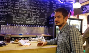 Denis Kovalyov of Victory Art Brew. At least two dozen craft beer bars have opened in Moscow since the summer of 2014