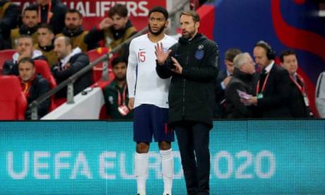 Southgate and Abraham disappointed in England fans over Gomez booing – video