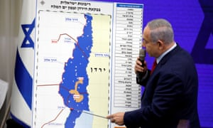 Benjamin Netanyahu said he would permanently seize up to a third of the West Bank if elected.