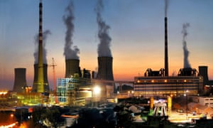 The Huaibei coal-fired power plant in Haibei city, Anhui province, China.