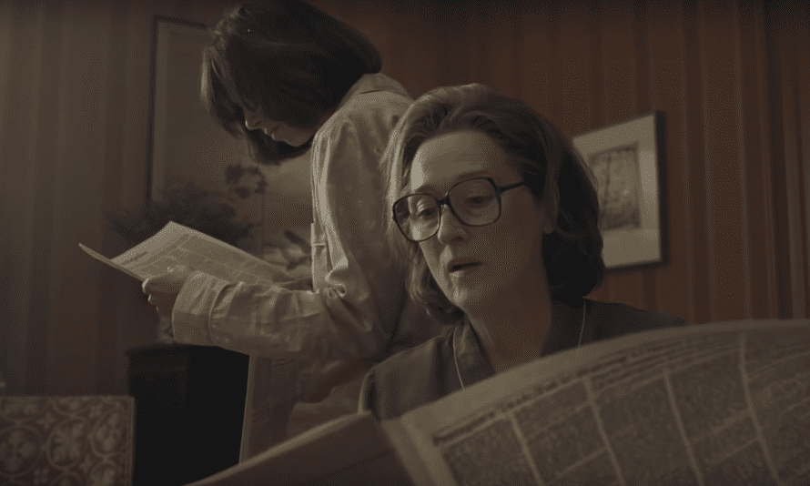Meryl Streep in Steven Spielberg's Pentagon Papers drama The Post.