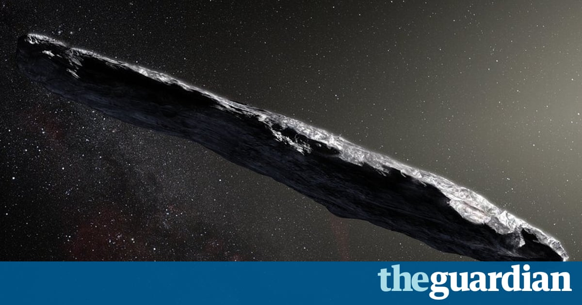 Is 'Oumuamua an alien spacecraft? First scans show no signs of technology