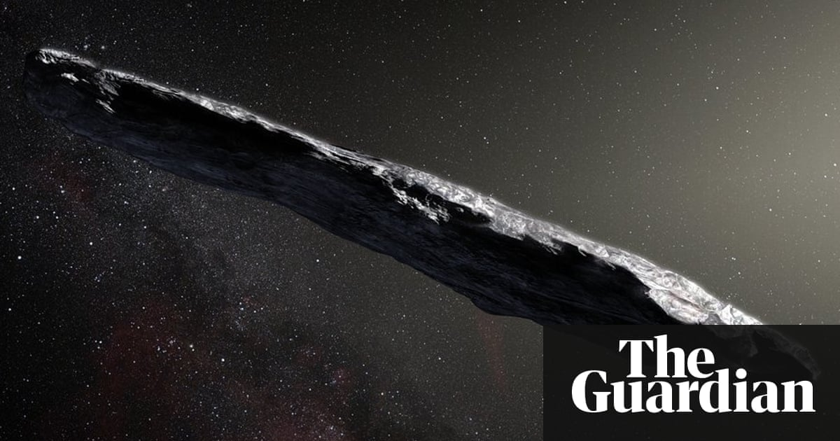 Is oumuamua an alien spacecraft initial scans show no signs of an artists impression of the oumuamua asteroid fandeluxe Images