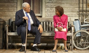 James Earl Jones and Cicely Tyson in The Gin Game.