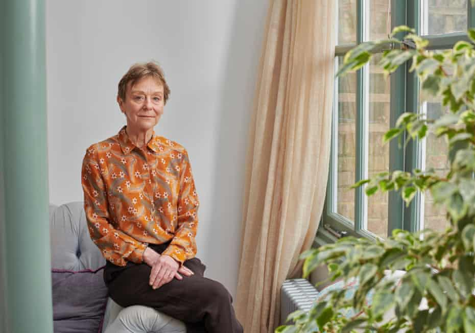 Nicci Gerrard photographed by Amit Lennon for the Observer New Review.