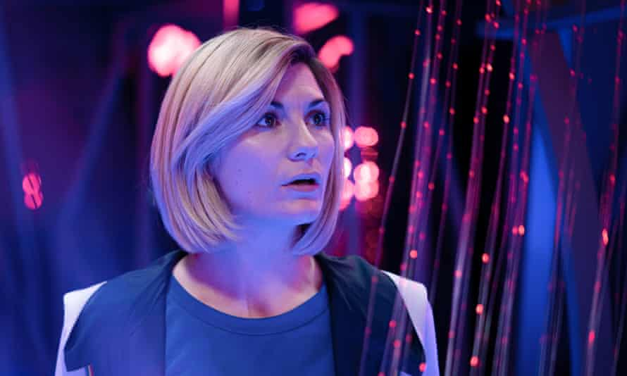 Jodie Whittaker as the 13th Doctor Who.