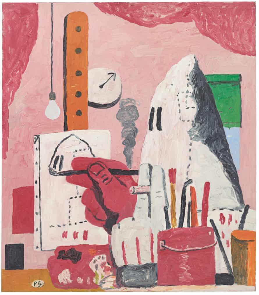 The Studio, 1969, by Philip Guston