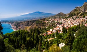 The coastal town of Taormina, where world leaders are gathered.