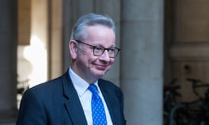Michael Gove, the Cabinet Office minister.