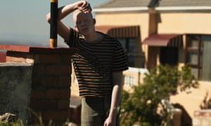 'I was an undercover black': Xaba wears T-shirt, £230, and herringbone trousers, £450, both Stella McCartney (harrods.com).