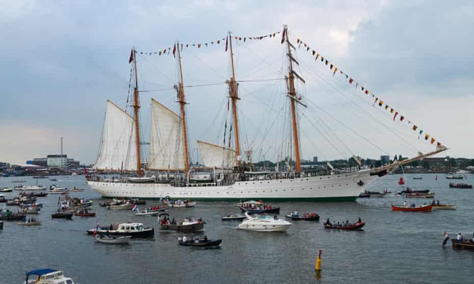 La Esmeralda at Amsterdam earlier this month.