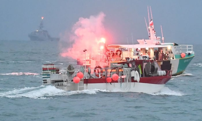 UK patrol vessels to remain off Jersey as French fishers end protest