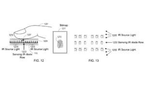 fingerprint scanner patent