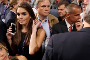 With Lewandowski at the Republican National Convention in Cleveland, Ohio