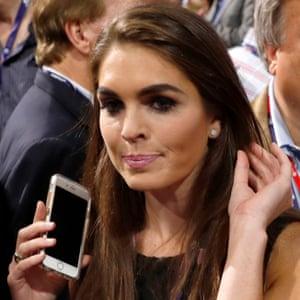 Trump's communications director Hope Hicks.