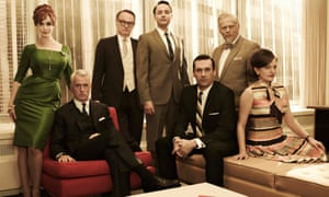 Blast from the past: the cast of Mad Men.