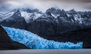 Cold as ice: the Grey Glacier.
