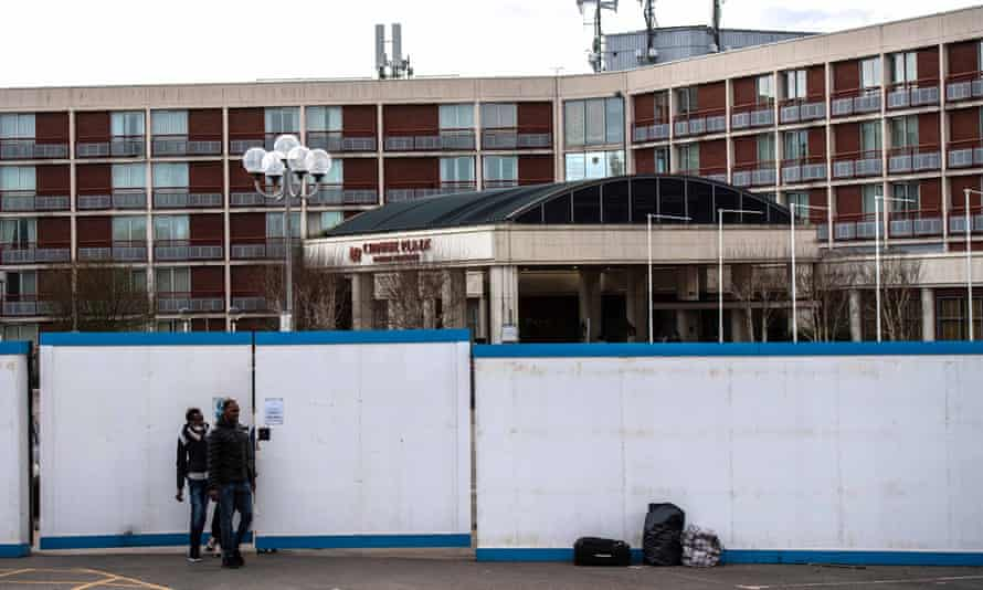 The Crowne Plaza hotel 'fails to meet the client's recovery needs', said his lawyer.