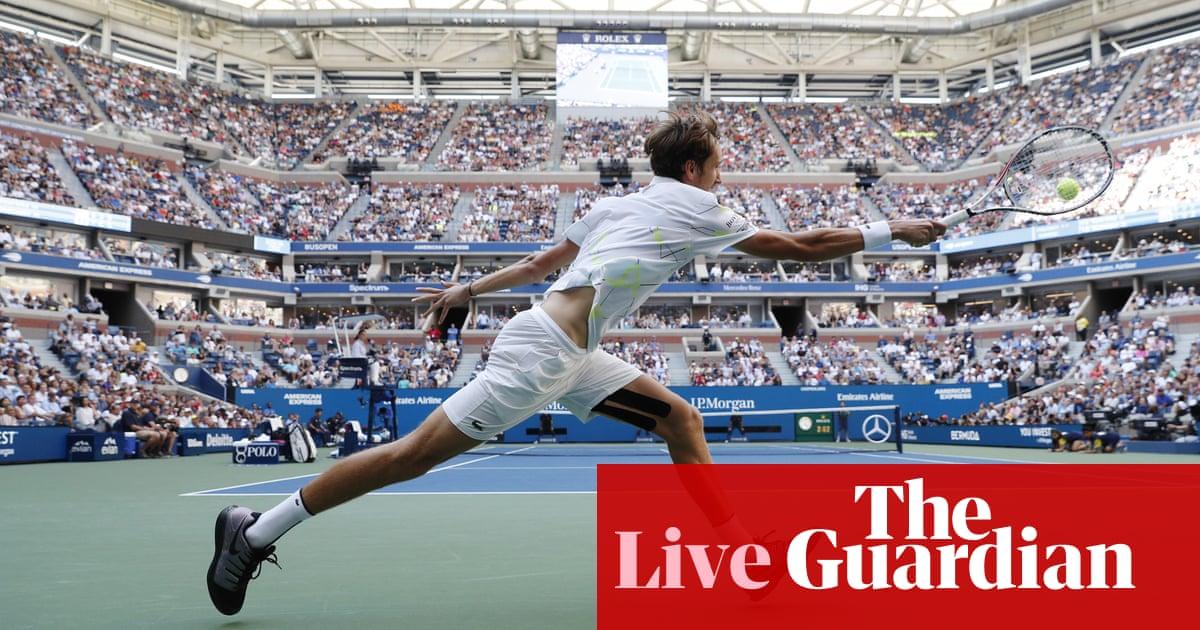 US Open mens semi-final: Daniil Medvedev v Grigor Dimitrov – live!
