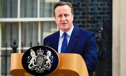 David Cameron announces his resignation on Friday