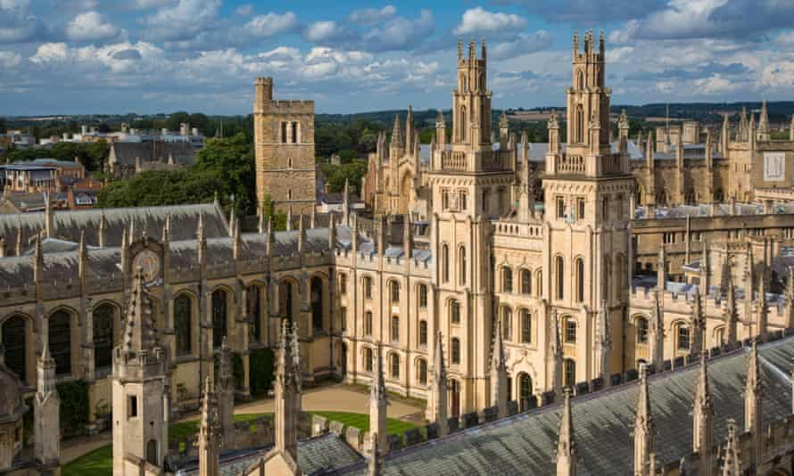Dreaming spires … eye-bathing Oxford visuals were a winning feature of the Inspector Morse TV series.