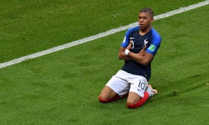 Kylian Mbappé, the 19-year-old global superstar.