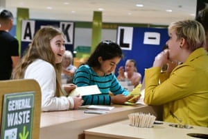 New College Swindon students open their results envelopes