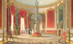 The Robert Jones saloon from Nash's Views