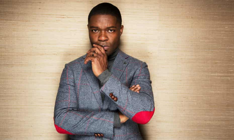 David Oyelowo photographed by Richard Saker for the Observer.