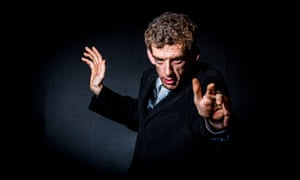 Daniel Oakes strikes a pose as Peter Capaldi's Doctor Who
