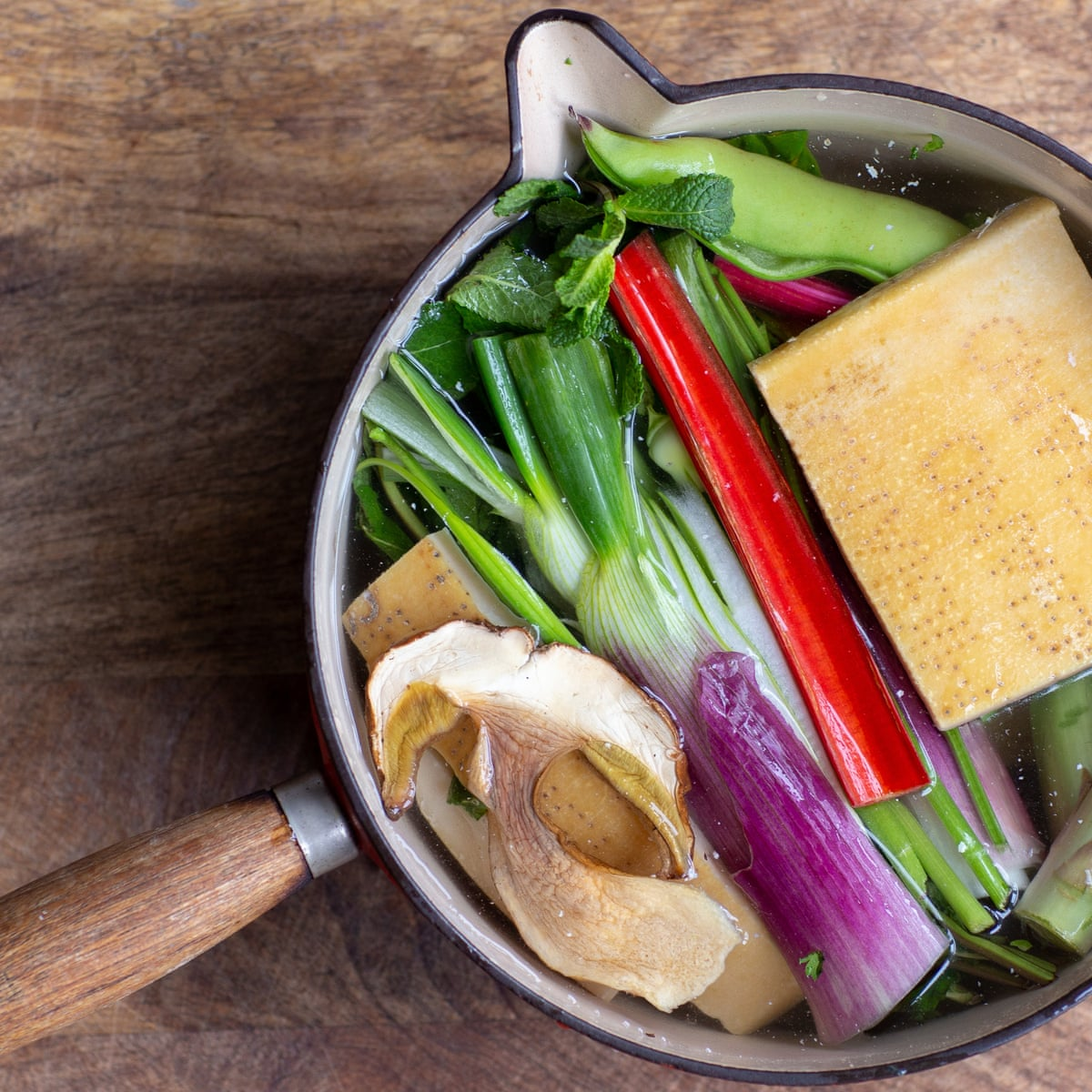 Introducing The Parmesan Rind Stock Cube Food The Guardian