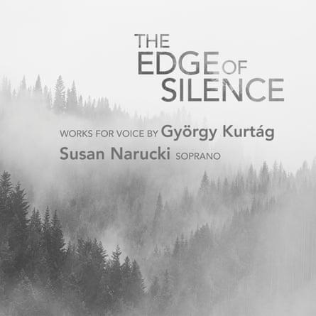 The Edge of Silence: Works for Voice by György Kurtág album artwork