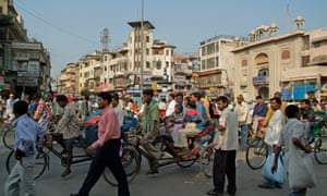 Are Delhi's streets really any more crowded than those of London, Paris or New York at rush hour?