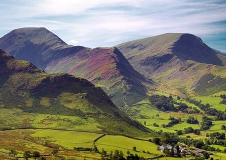 The Lake District national park in Cumbria.