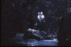 Oberon and Tytania, 1984: Tytania: Elizabeth Gale, Oberon: James Bowman