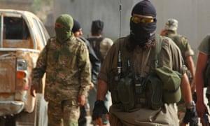 Members of the al-Nusra Front