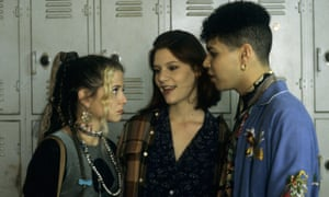 Claire Danes as Angela, AJ Langer as Rayanne and Wilson Cruz as Ricky