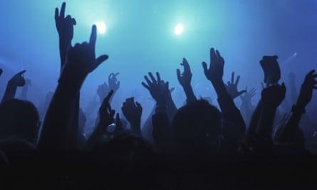 Crowd at gig
