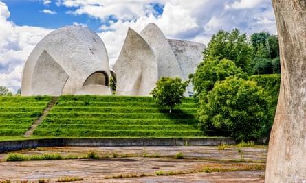 Crematorium in a Kiev's cemetery