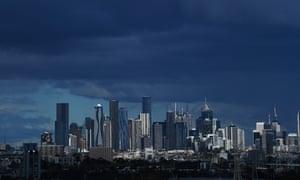 Melbourne's skyline today
