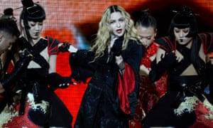 Madonna in concert in Zurich