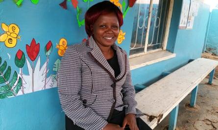 Pauline Ngina, headteacher of Kidogo's hub in Kibera, Kenya
