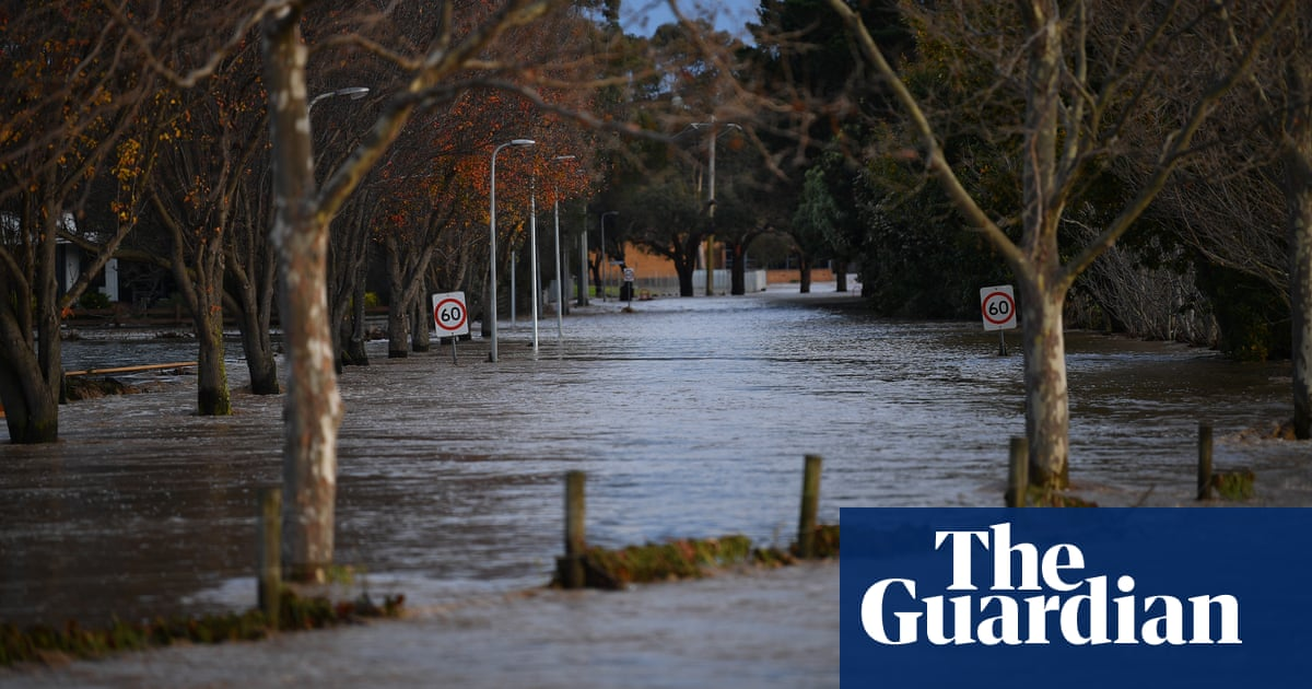 Victoria warned of further floods after Sydney records coldest day in 25 years – The Guardian