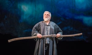 'Every third thought shall be my grave…': Simon Russell Beale as Prospero in The Tempest at the Royal Shakespeare Theatre, Stratford, in 2016.